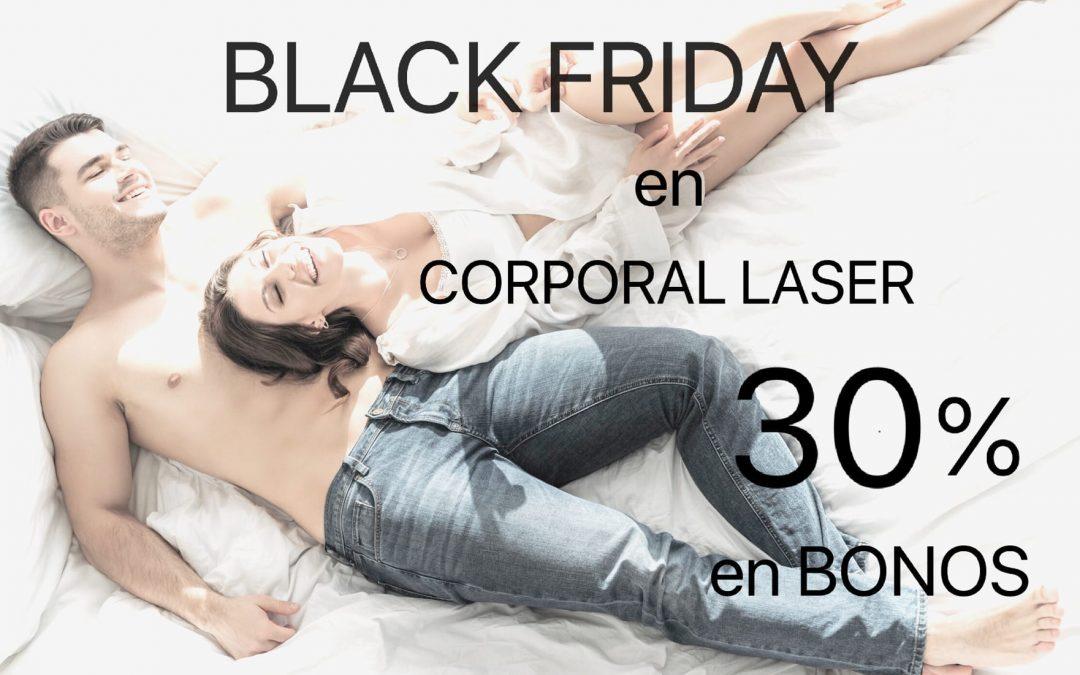 Black Friday 30% descuento en bonos